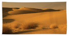 Skn 1124 The Desert Landscape Beach Towel by Sunil Kapadia