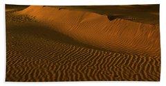 Skn 1127 The Golden Dunes Beach Towel