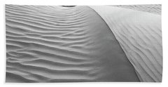 Skn 1414 The Rhythmic Demarcations Beach Towel by Sunil Kapadia