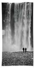 Skogafoss Beach Towel