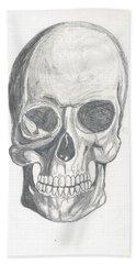Skull Study 2 Beach Sheet