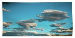 Sky And Clouds Garuda Valley Tibet Yantra.lv Beach Towel