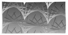 Beach Towel featuring the digital art Sky Arch 19 by Kevin McLaughlin