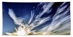 Sky Artistry Over Chandler Arizona Beach Towel