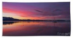 Sky Brows  Beach Towel
