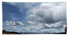 Sky Of Shrine Ridge Trail Beach Towel