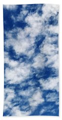 Sky Paint Beach Towel