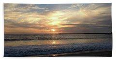 Sky Swirls Over Toes Beach Beach Sheet