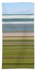 Sky Water Earth Grass Beach Towel