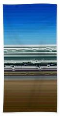 Sky Water Earth Beach Towel