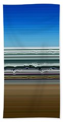 Sky Water Earth Beach Towel