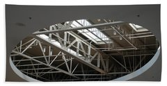 Beach Towel featuring the photograph Skylight Gurders by Rob Hans