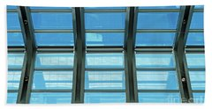 Beach Towel featuring the photograph Skylight.. by Nina Stavlund