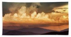 Skyline Drive Scenic View Beach Towel by Thomas R Fletcher
