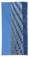 Skyscraper Abstract # 12 Beach Towel