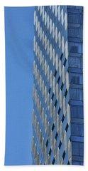 Skyscraper Abstract # 12 Beach Sheet