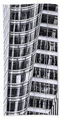 Skyscraper Abstract # 2 Beach Sheet