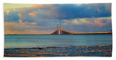 Skyway Bridge Beach Sheet