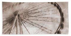 Skywheel In Niagara Falls Beach Sheet