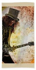 Slash - Guitarist Beach Towel