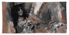 Slash Guns And Roses  Beach Towel