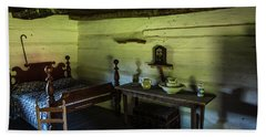 Slave Quarters - The Hermitage Beach Towel