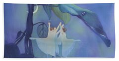 Sleeping Fairies Beach Sheet