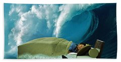 Sleeping With Sharks Beach Towel