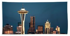 Beach Towel featuring the photograph Sleepless In Seattle by Eduard Moldoveanu