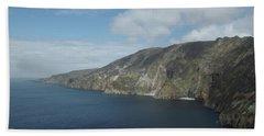 Sliabh Liag Beach Towel by Greg Graham