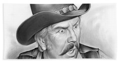 Slim Pickens Beach Towel
