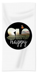 Slohappyedna Beach Towel