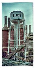 Sloss Furnaces Tower 3 Beach Sheet