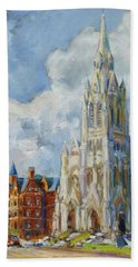 Slu - Grand And Lindell, Saint Louis Beach Towel