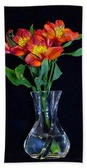 Small Bouquet Of Flowers Beach Sheet
