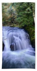Small Cascade Beach Towel