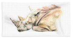 Small Colour Rhino Beach Sheet
