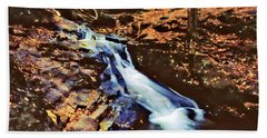 Small Falls 001 Beach Towel by Scott McAllister