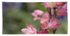Small Flowers Beach Sheet by Tine Nordbred
