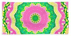 Small Joy Beach Towel by Shirley Moravec