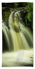Small Waterfall Beach Towel