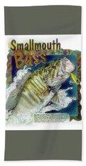 Smallmouth Bass Beach Towel