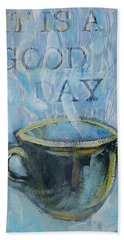 Smell The Coffee Beach Towel