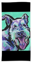 Smiley Schnauz Beach Towel
