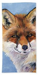 Smiling Fox Beach Towel