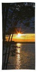 Smith Mountain Lake Summer Sunet Beach Sheet