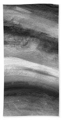 Smoke- Abstract Art By Linda Woods Beach Towel