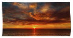 Smoke And Clouds Beach Towel