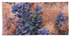 Smoke Bush Beach Towel