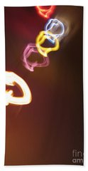 Beach Towel featuring the photograph Smoke In Colors by Ausra Huntington nee Paulauskaite